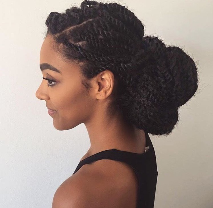 25 Really Cool Natural Black Hairstyles