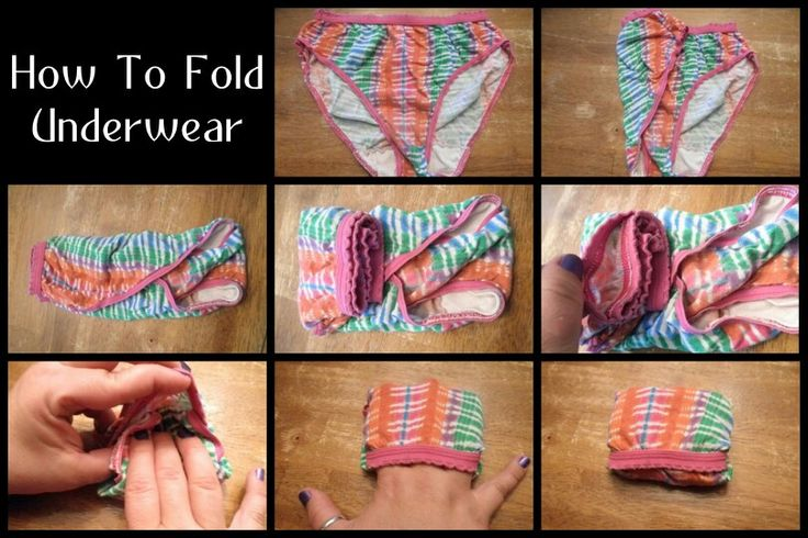 Buy How to pair a fold of underwear picture trends