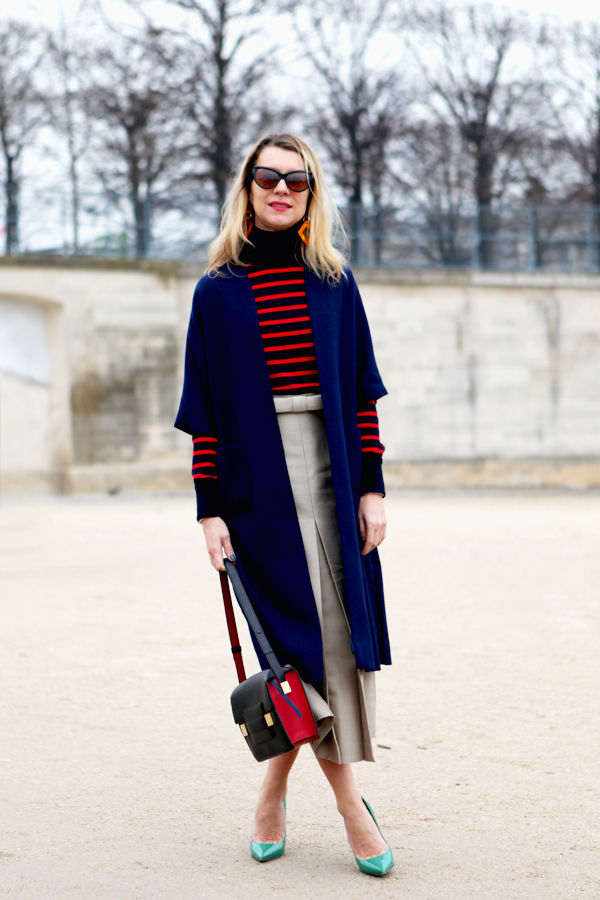 The art of layering clothes